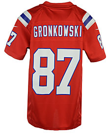 Nike Rob Gronkowski New England Patriots Game Jersey, Big Boys (8-20)