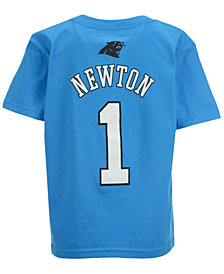 Outerstuff NFL  Cam Newton T-Shirt, Little Boys (4-7)