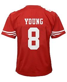 Nike Steve Young San Francisco 49ers Retired Player Game Jersey, Big Boys (8-20)