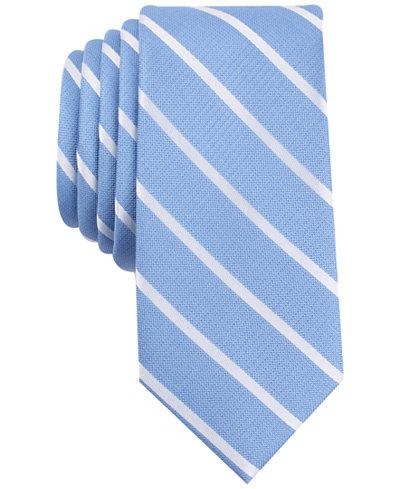 Bar Iii Men S Cashel Stripe Slim Tie Created For Macy