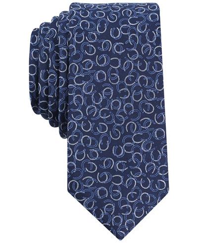 Bar Iii Men S Secretariat Horseshoe Slim Tie Created For Macy