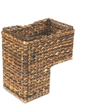 Image of BacBac Leaf Woven Stair Basket