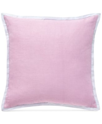 """CLOSEOUT! Dusty Pink 18"""" Square Decorative Pillow"""