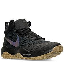 Nike Men's Zoom Rev Basketball Sneakers from Finish Line