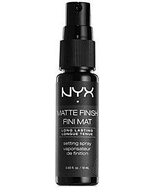 NYX Professional Makeup Makeup Setting Spray Mini - Matte Finish