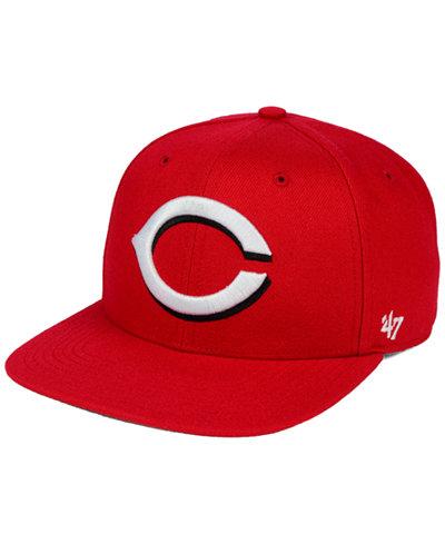 '47 Brand Cincinnati Reds Sure Shot Snapback Cap