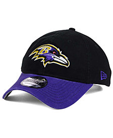 New Era Baltimore Ravens Relaxed 2Tone 9TWENTY Strapback Cap