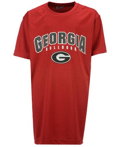Colosseum Georgia Bulldogs Mesh Poly T-Shirt, Big Boys (8-20)