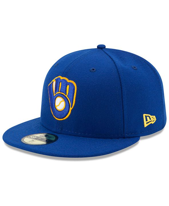 New Era Milwaukee Brewers Authentic Collection 59FIFTY Cap
