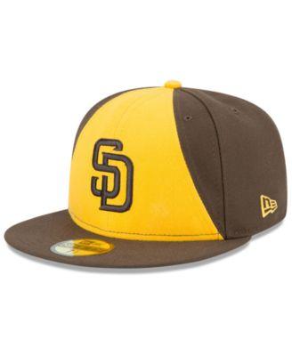 NEW Era 59 Fifty Cap-MLB BLACK San Diego Padres