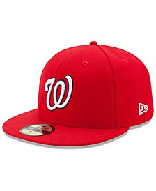 Washington Nationals Authentic Collection 59FIFTY Cap