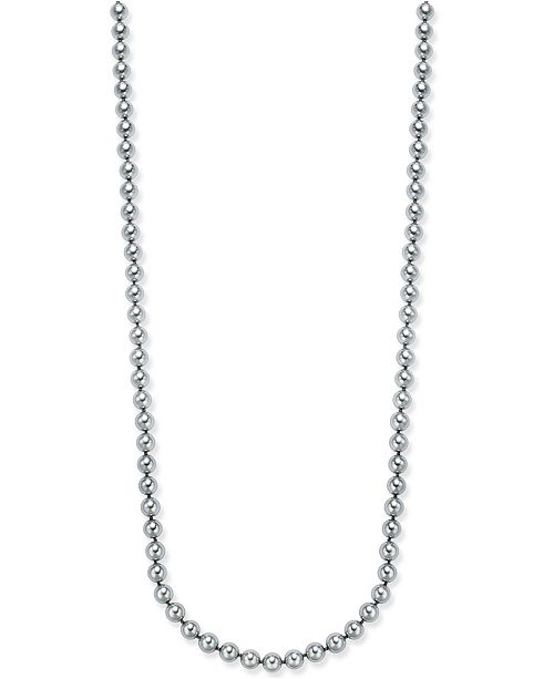 Imitation Pearl Long Necklace, Created for Macy's