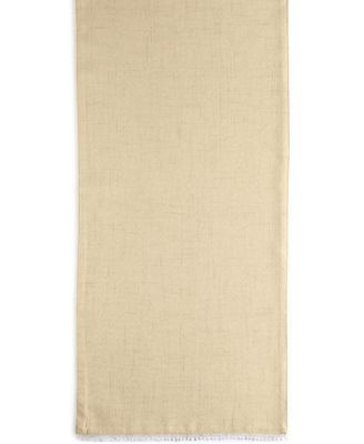 """French Perle Buttercup 70"""" Table Runner"""