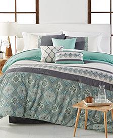 CLOSEOUT! Hampton 7-Pc. Full Comforter Set