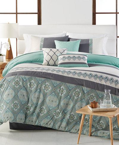CLOSEOUT! Hampton 7-Pc. Comforter Sets