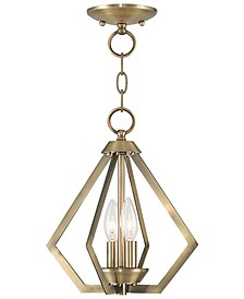 Prism 2- Light Metal Mini Pendant