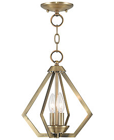 Livex Prism 2- Light Metal Mini Pendant