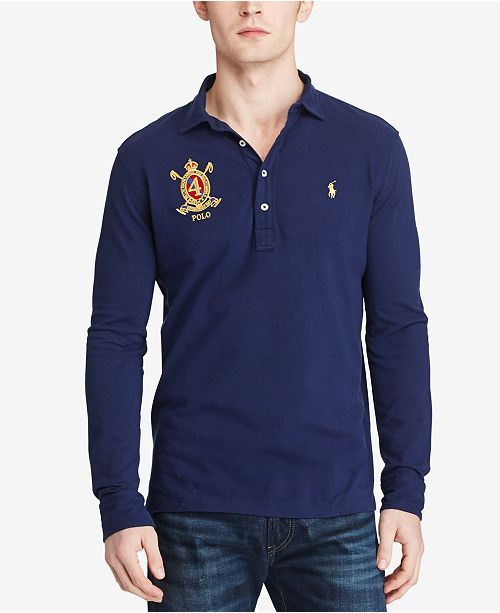 52b9a16a89 Polo Ralph Lauren Men's Classic-Fit, Featherweight Polo Shirt, Created for  Macy's
