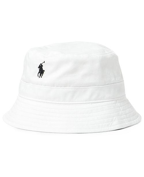 7847438a64452 Polo Ralph Lauren Men s Twill Bucket Hat   Reviews - Hats