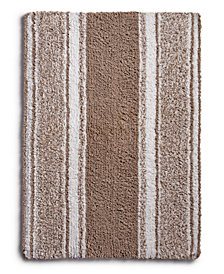 "Martha Stewart Collection Cotton Reversible 17"" x 24"" Bath Rug, Created for Macy's"