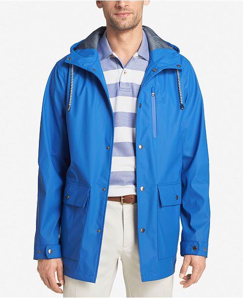 ac9416ddea2f IZOD Men s Hooded Raincoat and Windbreaker Jacket   Reviews ...