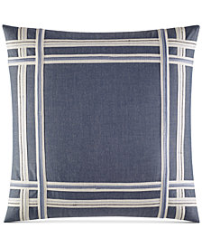 "Nautica Fairwater 18"" Square Decorative Pillow"