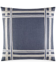 Nautica Fairwater Decorative 18 x 18 Pillow