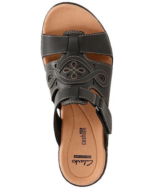 81e3ab398b1b Clarks Collection Women s Leisa Higley Flat Sandals   Reviews ...