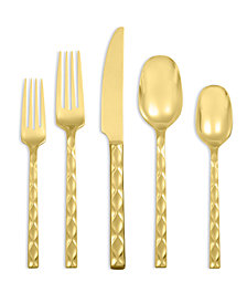 Argent Orfèvres by Hampton Forge Epigram Gold 5-Piece Place Setting, Created for Macy's