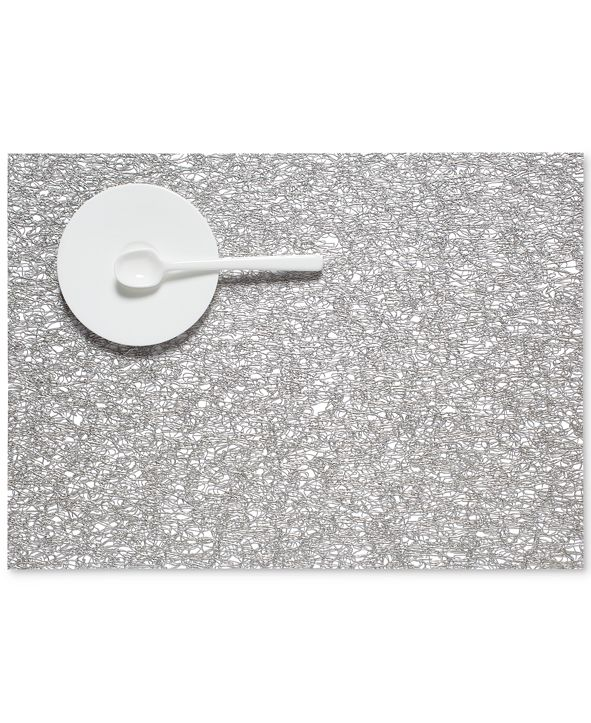 """Chilewich Metallic Lace 13"""" x 18"""" Placemat"""