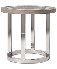 CLOSEOUT! Aila Round End Table