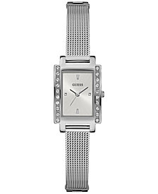 GUESS Women's Stainless Steel Mesh Bracelet Watch 20x35mm	U0953L1