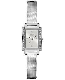 GUESS Women's Stainless Steel Mesh Bracelet Watch 20x35mmU0953L1