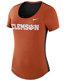 Nike Women's Clemson Tigers Dri-Blend Scoop T-Shirt