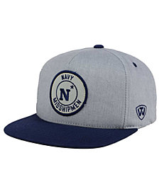 Top of the World Navy Midshipmen Illin Snapback Cap