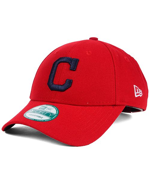 info for f9716 336d1 New Era Cleveland Indians The League 9FORTY Adjustable Cap ...