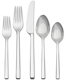 Flatware 18/10, Polished 5 Piece Place Setting