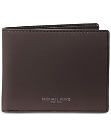 Michael Kors Men's Leather Slim RFID Billfold