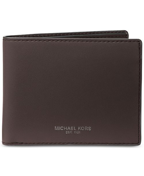 895ab3681685 Michael Kors Men s Leather Slim RFID Billfold   Reviews - All ...