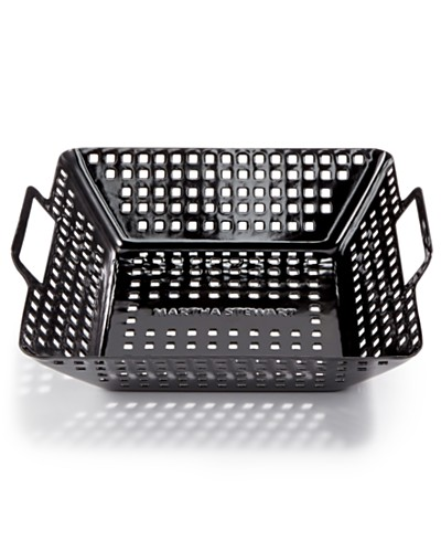 Martha Stewart Collection Square BBQ Wok, Created for Macy's