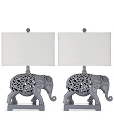 Set of 2 Hathi Table Lamps
