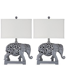 Safavieh Set of 2 Hathi Table Lamps