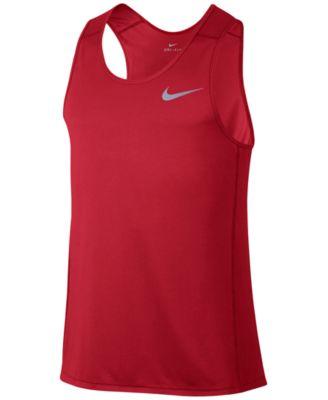 64860a0b7ec752 Nike Men s Dry Running Tank Top   Reviews - T-Shirts - Men - Macy s