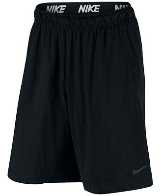 Nike Men S 9 Dri Fit Cotton Jersey Training Shorts Shorts Men