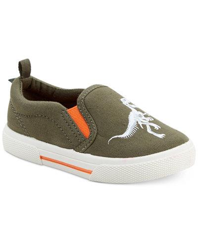 Carter's Damon Dinosaur Slip-On Sneakers, Toddler Boys & Little Boys