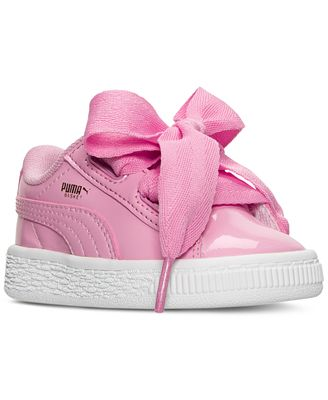 puma shoes kids girls white