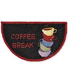 "Nourison Coffee Break 1'7"" x 2'8"" Kitchen Rug"
