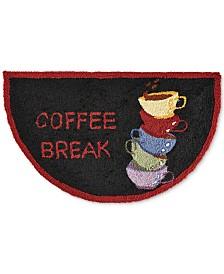 """Nourison Coffee Break 1'7"""" x 2'8"""" Kitchen Rug"""