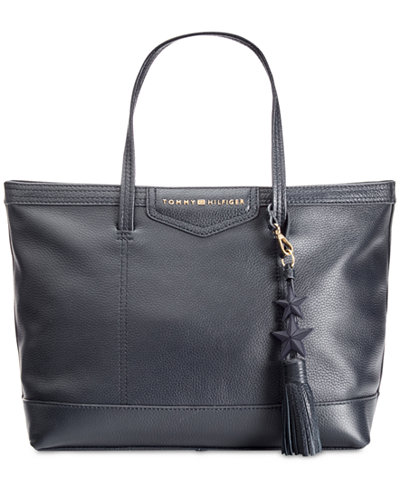 Tommy Hilfiger TH Extra-Large Tassel Shopper Tote