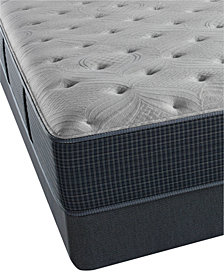 "Beautyrest Silver Waterscape 13.75"" Plush Mattress Set- Queen Split"